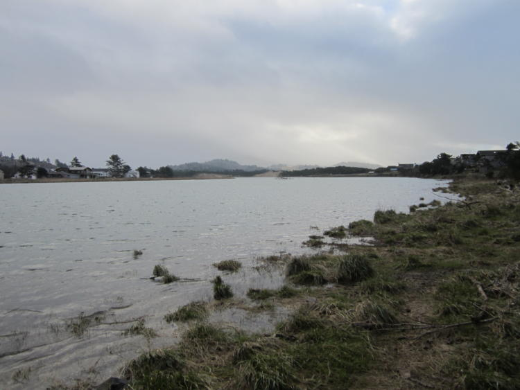 The Nestucca Bay along Oregon's north coast.